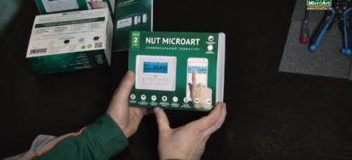 Обзор термостата NUT MICROART: анбоксинг.