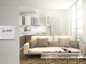Умный электронный термостат / терморегулятор температуры воздуха для любых помещений